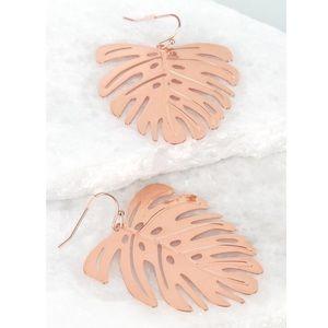 Jewelry - Tropical Leaf Earrigs